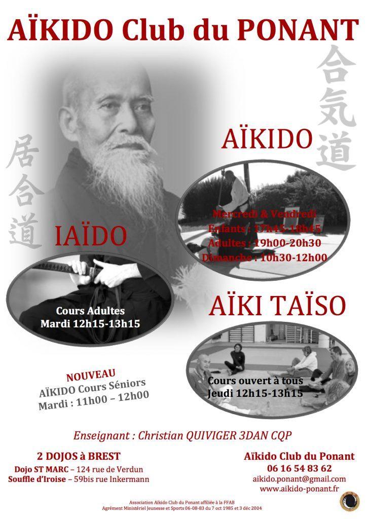 Affiche Aïkido 1